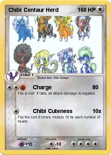 Pokemon Chibi Centaur Herd