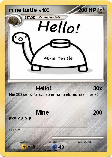 Mine turtle explosion - photo#41