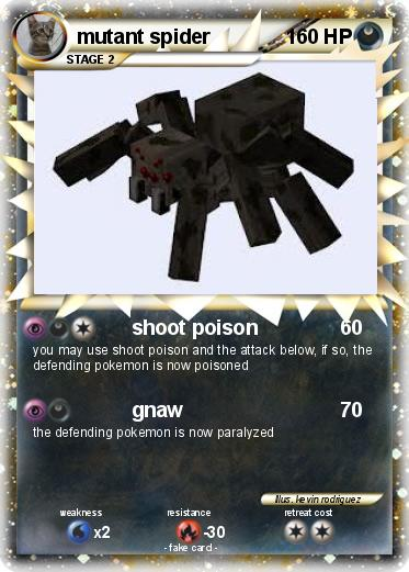 mutant spider minecraft