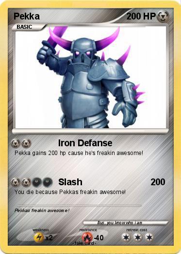 Poku00e9mon Pekka 10 10 - Iron Defanse - My Pokemon Card