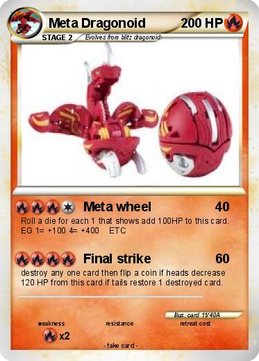 Pokemon Meta DragonoidMeta Dragonoid