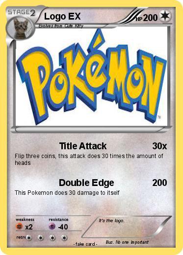 Pokemon Logo Ex