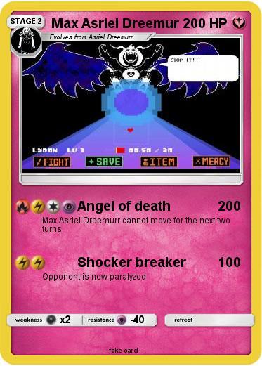 Pokemon Max Asriel Dreemur