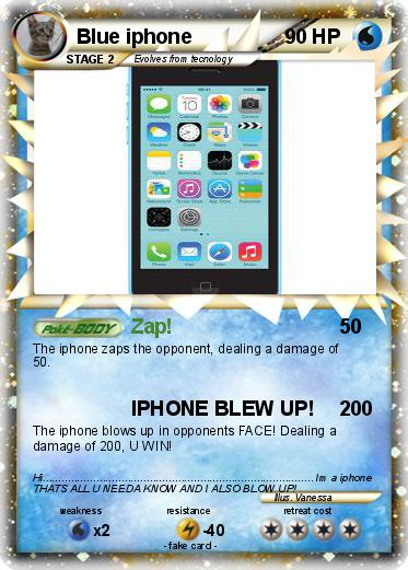 pokemon blue iphone pok 233 mon blue iphone zap my card 12786