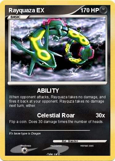 Pokemon Rayquaza Ex 280