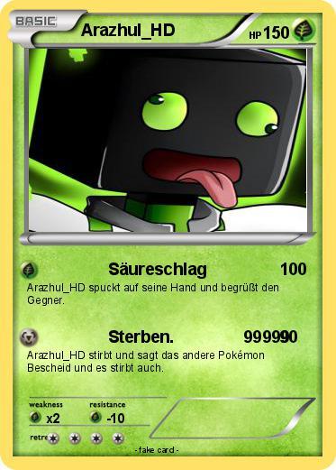 pok mon arazhul hd   s ureschlag   my pokemon card