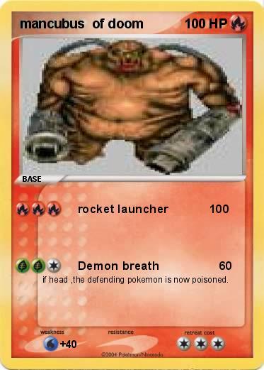 Pokemon mancubus of doom