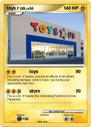 Toys For Cards : Pokémon toys r us my pokemon card