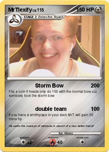 Pok 233 mon mrtlexify 5 5 storm bow my pokemon card