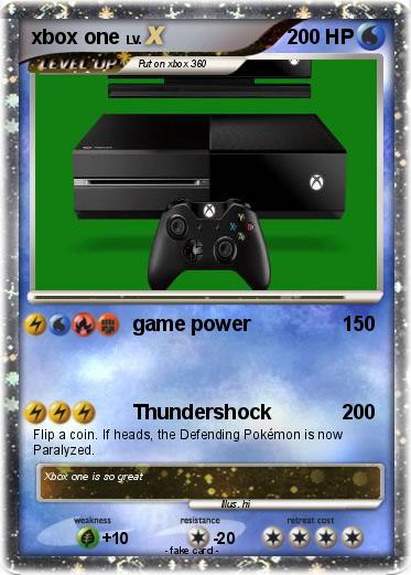 Pokemon Games For Xbox 1 : Pokémon xbox one game power my pokemon card