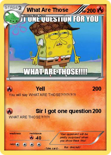 Pokmon What Are Those 24 Yell My Pokemon Card