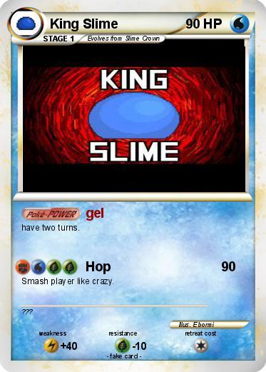 Pokémon King Slime 26 26 - gel - My Pokemon Card