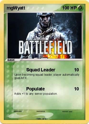 My fat squad leader