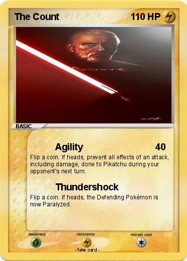 Pokémon The Count 4 4 Agility My Pokemon Card