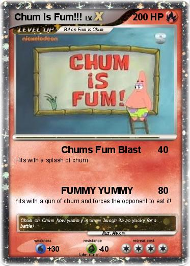 Pok  mon Chum Is Fum -...