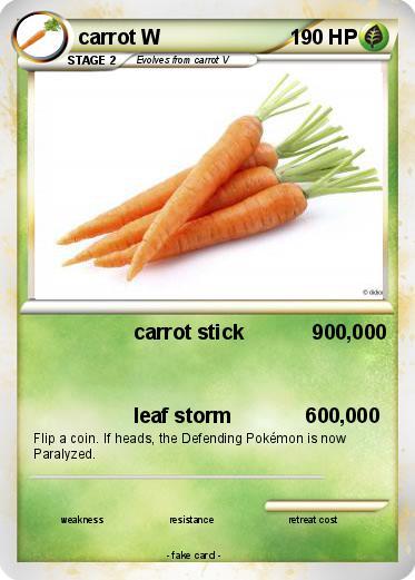 Pokémon Carrot W