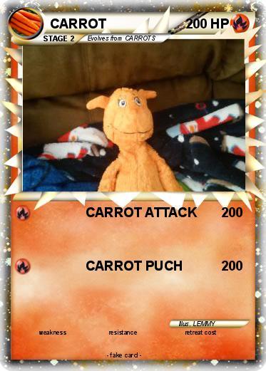 Pokémon CARROT 61 61