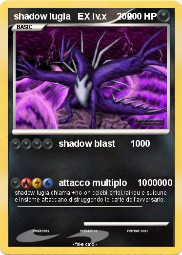 Pokemon Cards Level X Lugia