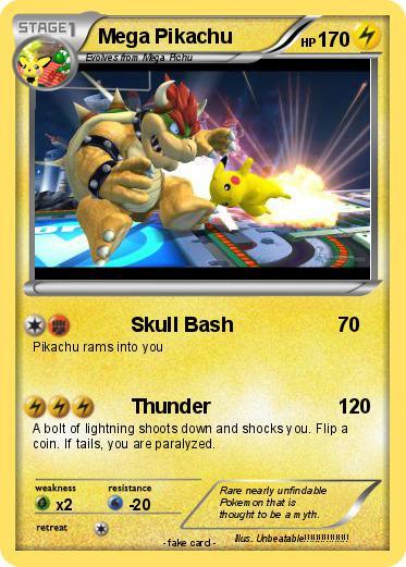 Pokemon Mega Pikachu 256