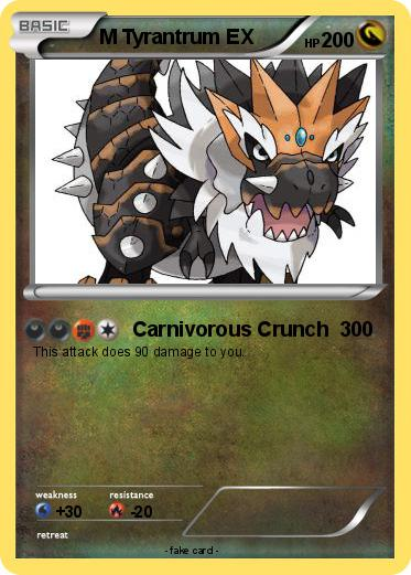 Pokemon M Tyrantrum Ex 12