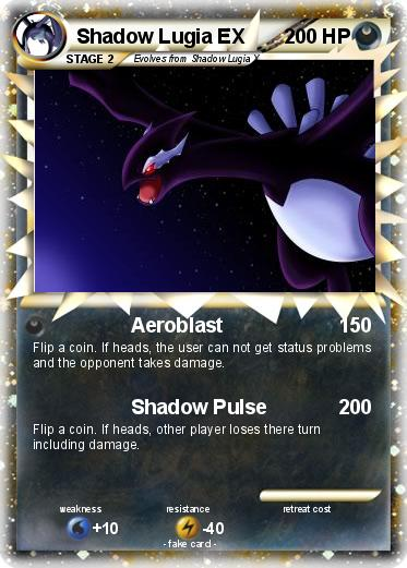 Pokemon Shadow Lugia Ex Images | Pokemon Images