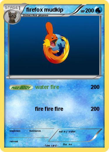 Pokemon firefox mudkip