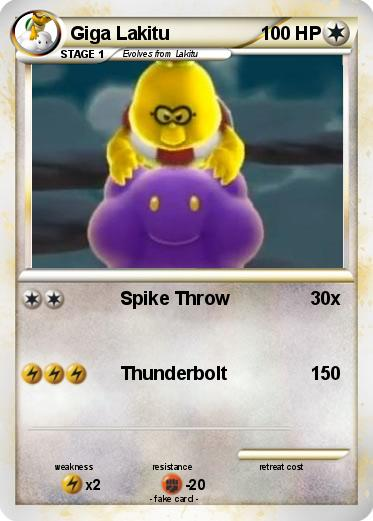 Gold Jigglypuff Card Pokémon Giga Laki...