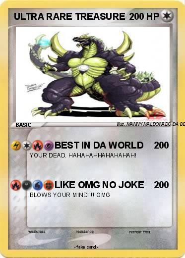 Pokemon Ultra Rare Treasure