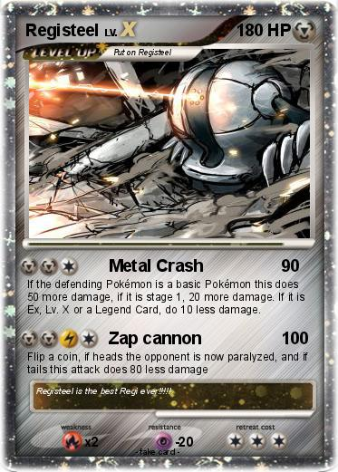 Registeel Pokemon Card Pokémon Registeel...