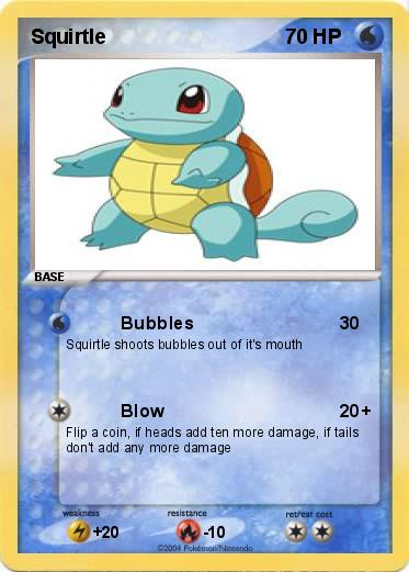 Squirtle Card 82