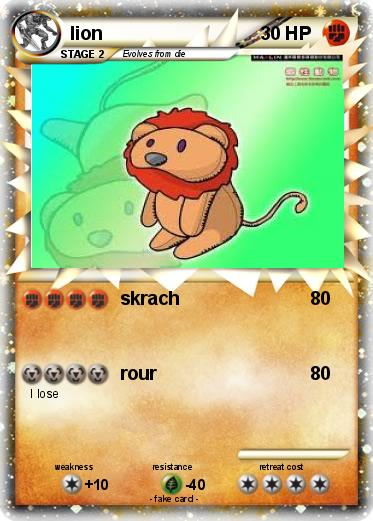 fire lion pokemon