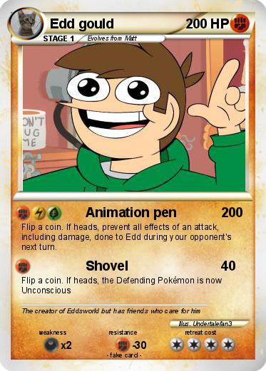 Pokemon Edd Gould 13 Animation by edd 'eddsworld' gould (tvclip.biz/user/eddsworld) music: pokemon edd gould 13