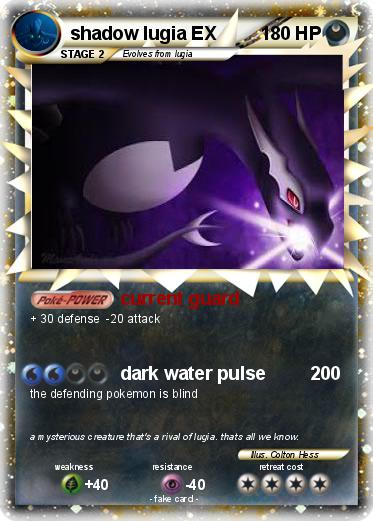 Shadow lugia ex ebay