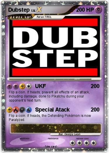 Pok 233 Mon Dubstep 43 43 Ukf My Pokemon Card
