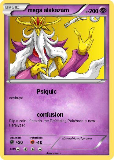 Pokemon mega alakazam