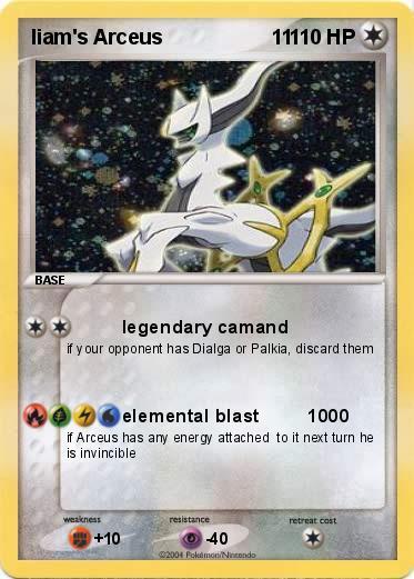 Pokémon liam s Arceus 11 11 - legendary camand - My ...