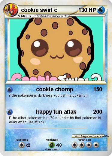 Pok mon cookie swirl c 3 3 cookie