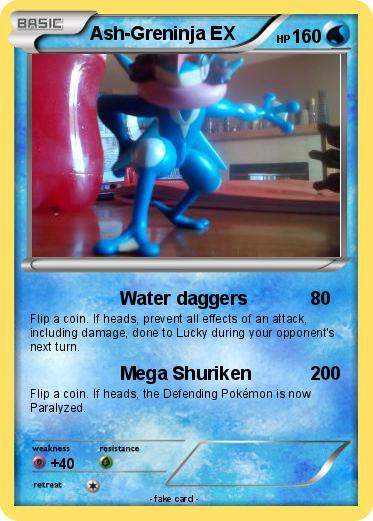 Pokemon Ash Greninja Ex 18