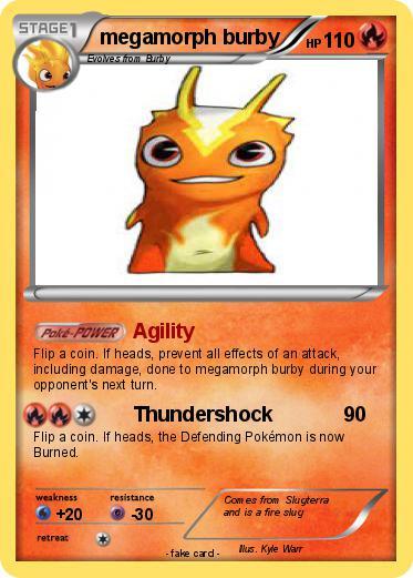 Pok 233 Mon Megamorph Burby Agility My Pokemon Card