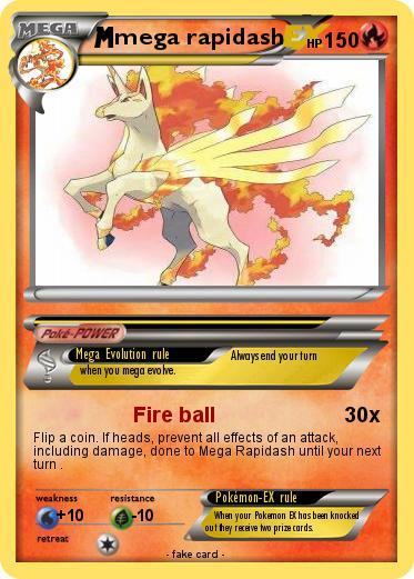 Pokemon Mega Rapidash 9
