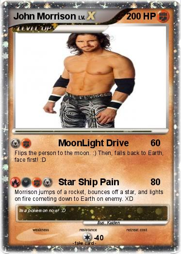 Pokémon John Morrison 102 102 - MoonLight Drive - My ...