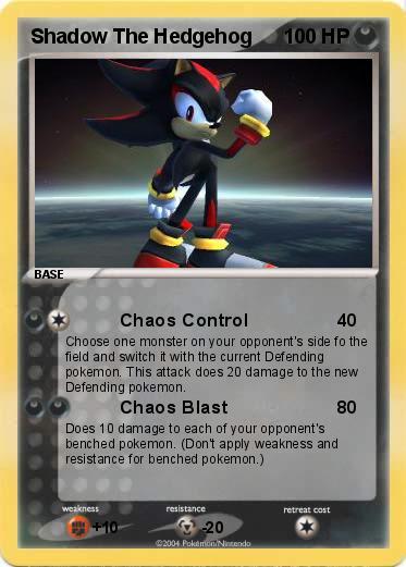 Pok mon shadow the hedgehog 23 23 chaos control my - Shadow the hedgehog pokemon ...