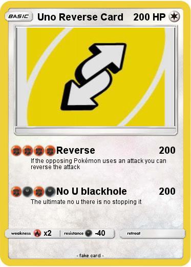 Pokemon Uno Reverse Card 14