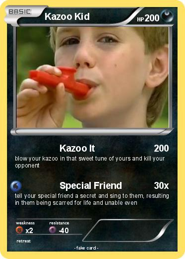 Pok mon kazoo kid 4 4 kazoo it my pokemon card - Mypokecard com ...