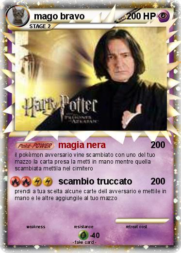 Pokémon mago bravo - magia nera - My Pokemon Card