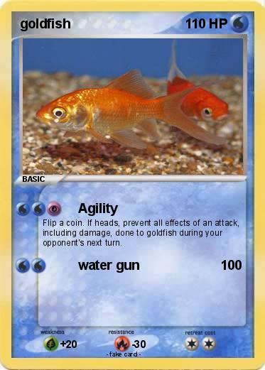 Pok mon goldfish 37 37 agility my pokemon card for Gold fish card game