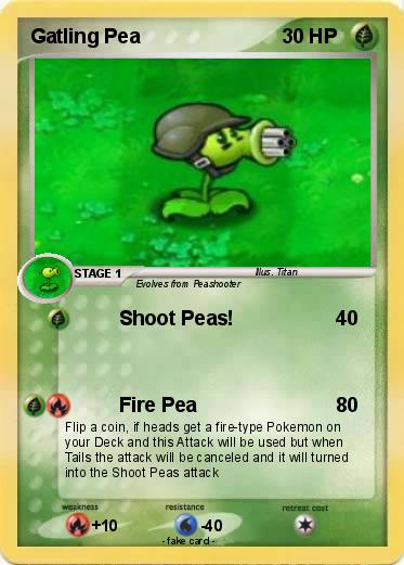 Pokemon Gatling Pea 19