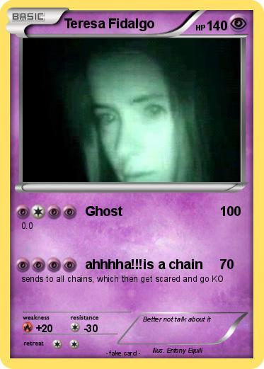 Pok mon teresa fidalgo ghost my pokemon card - Mypokecard com ...