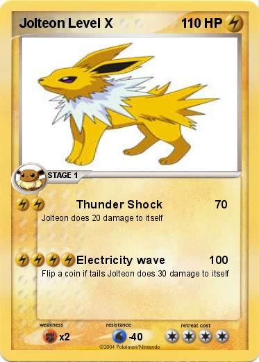 Pokemon Movesets: Jolteon - YouTube