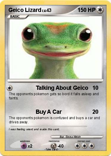 what is the geico geckos name